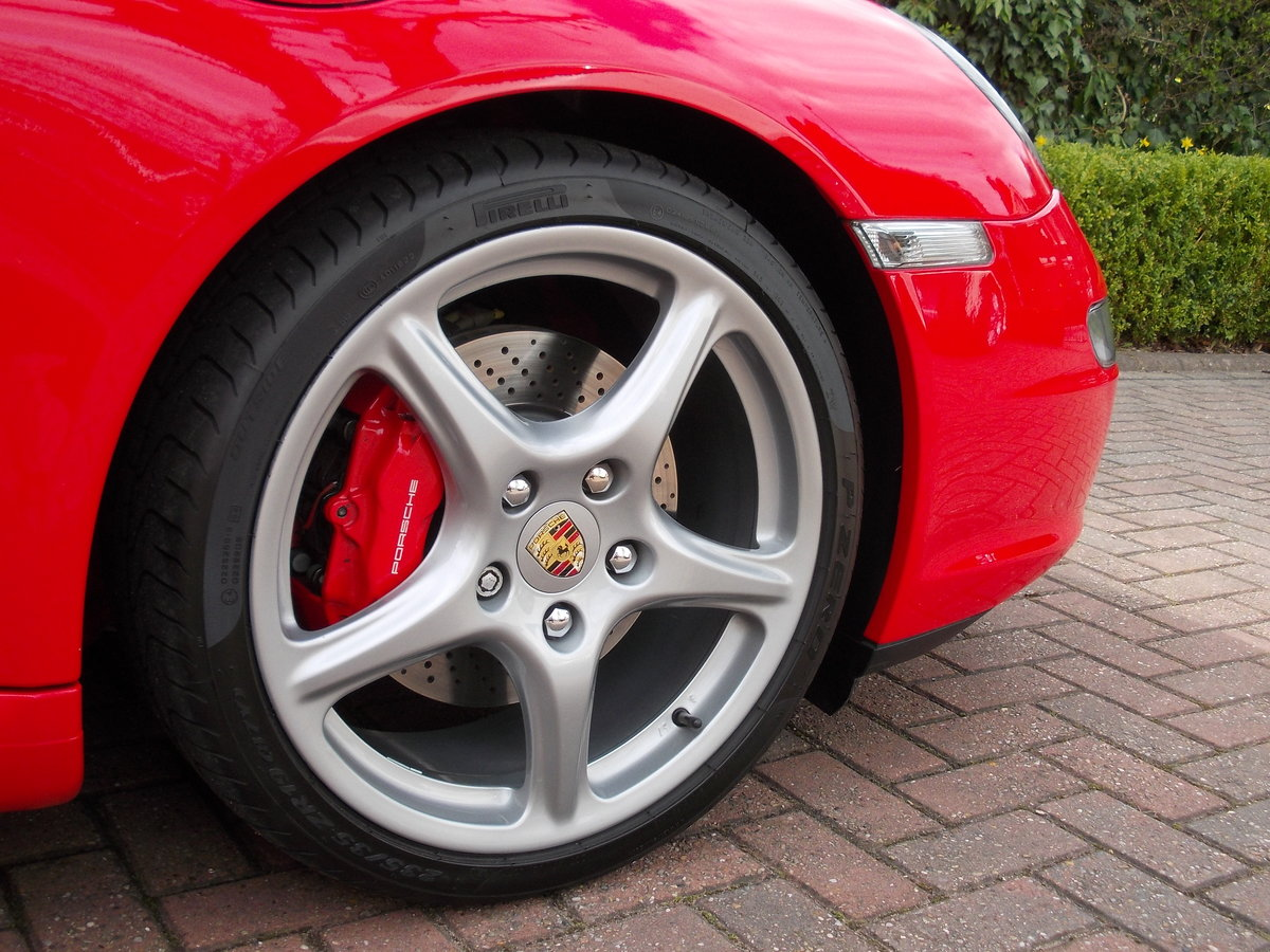 2007 PORSCHE 997 CARRERA 2S .GUARDS RED.SUPERB.£27975 For Sale (picture 3 of 6)