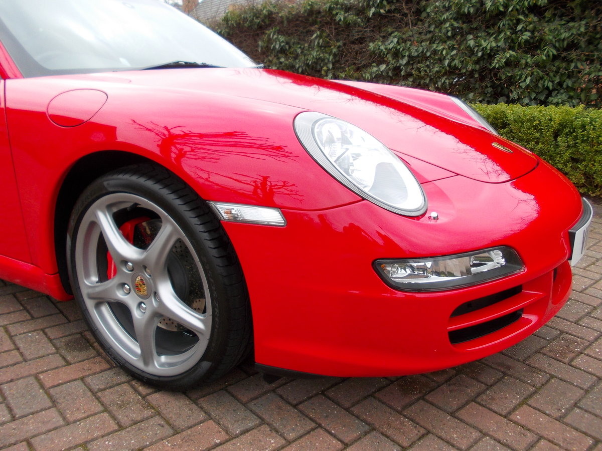 2007 PORSCHE 997 CARRERA 2S .GUARDS RED.SUPERB.£27975 For Sale (picture 4 of 6)