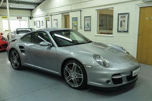 2008 08 Porsche 911 997 3.6 Turbo 4WD Tip S auto -GT Silver