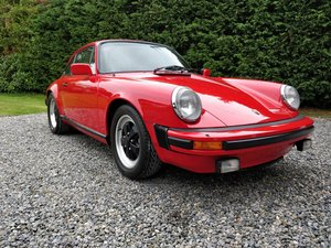 1983 Porsche 911 SC (low mileage, 1 owner) LHD For Sale