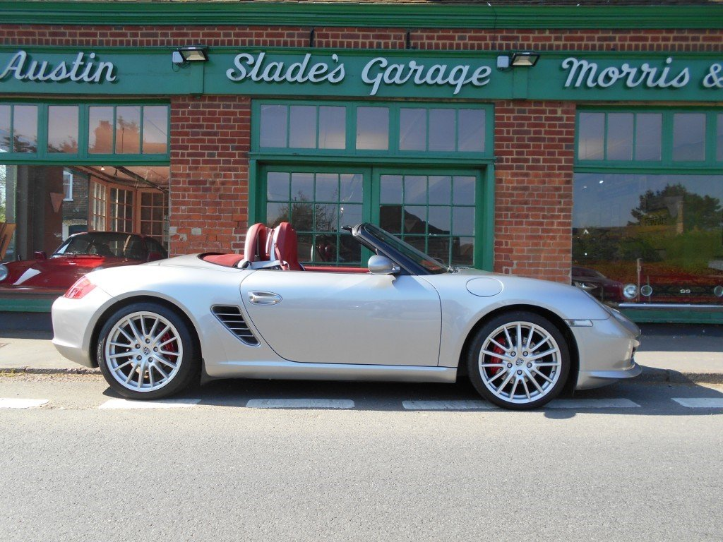 2008 Porsche Boxster RS60 Spyder  SOLD (picture 1 of 4)