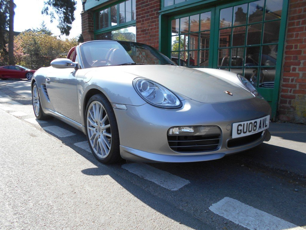 2008 Porsche Boxster RS60 Spyder  SOLD (picture 2 of 4)