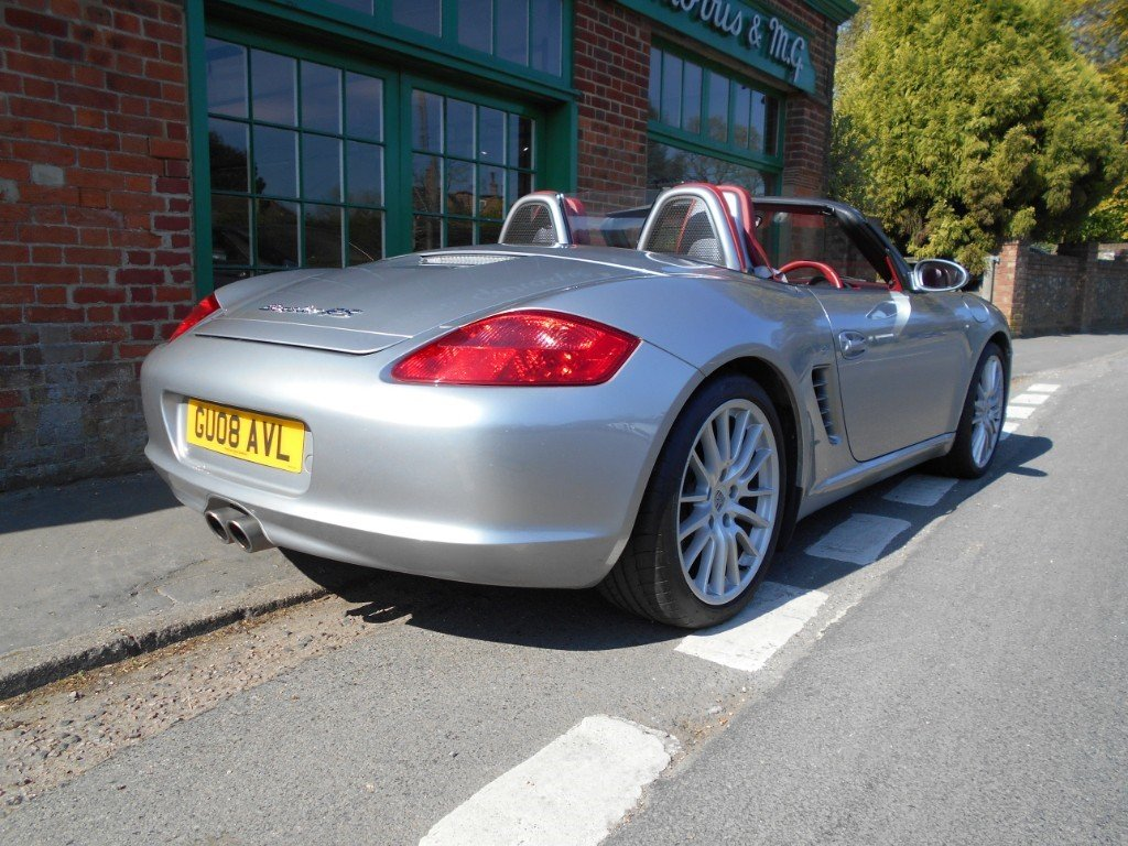 2008 Porsche Boxster RS60 Spyder  SOLD (picture 3 of 4)