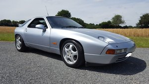 1993 Porsche 928 GTS A, Silver, Navy Leather, Sunroof For Sale
