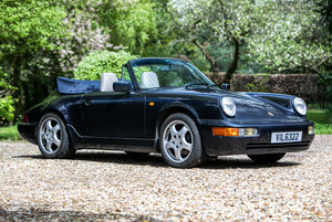 1989 Porsche 911 (964) C4 Cabriolet *** SOLD *** For Sale by Auction