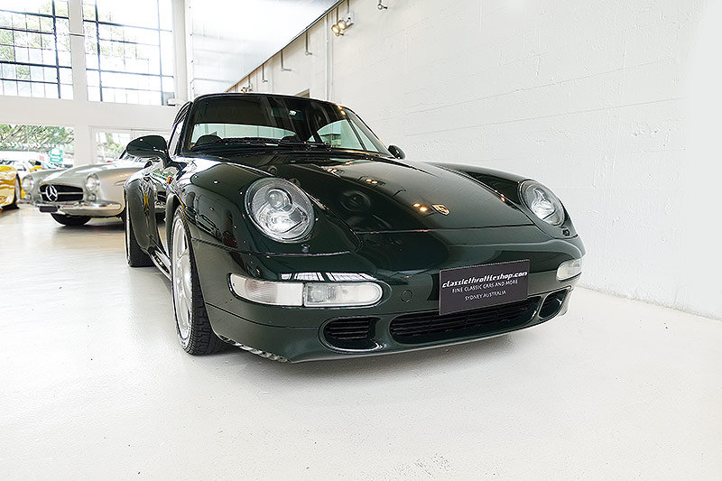 1995 Porsche 993 Turbo, special order BRG, original, low kms SOLD (picture 1 of 6)