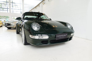 1995 Porsche 993 Turbo, special order BRG, original, low kms For Sale