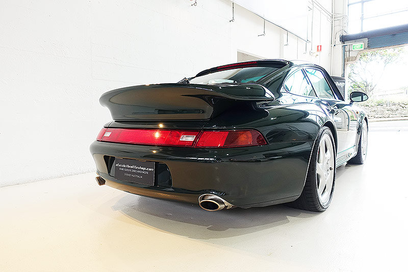 1995 Porsche 993 Turbo, special order BRG, original, low kms SOLD (picture 2 of 6)