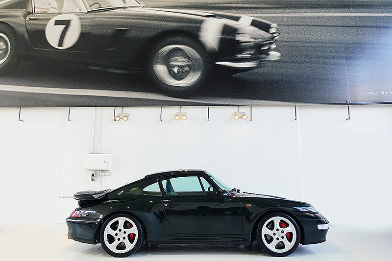 1995 Porsche 993 Turbo, special order BRG, original, low kms SOLD (picture 3 of 6)