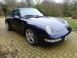 1996 Porsche 911 993 C4 Cabriolet For Sale