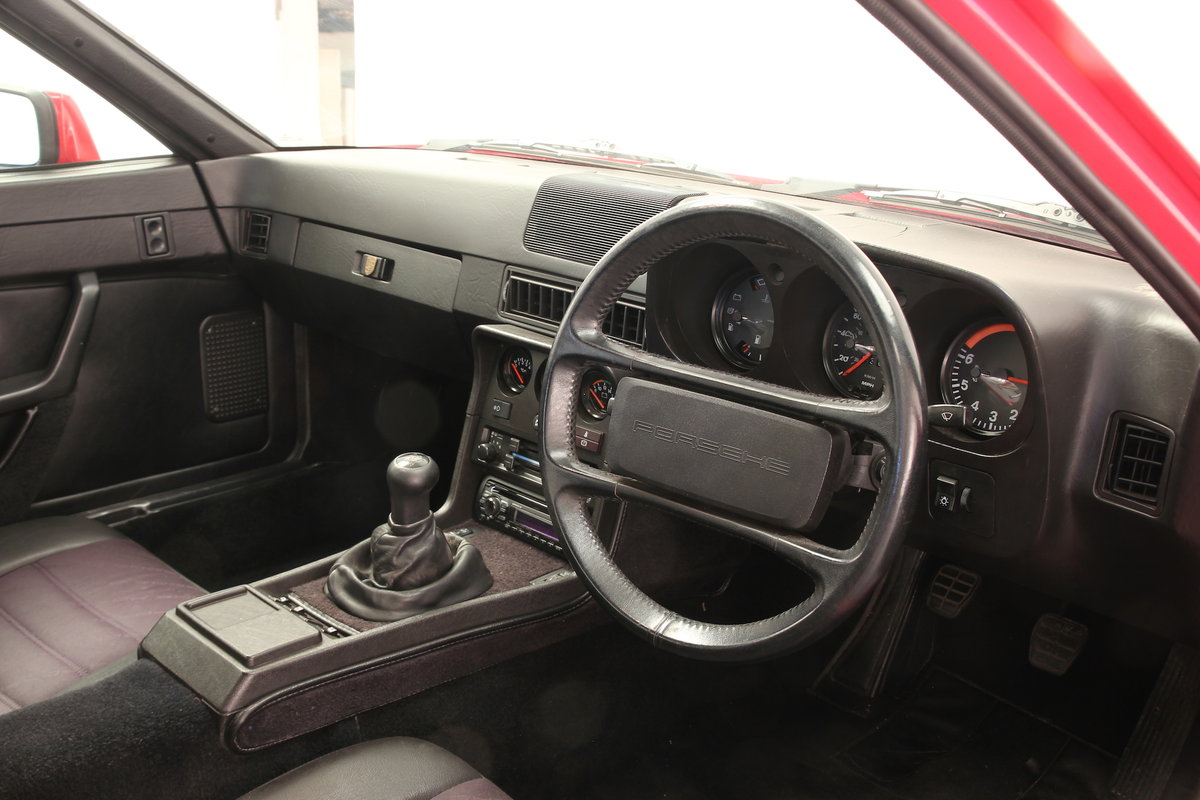 Porsche 924S. Superb condition and history. 1986 SOLD (picture 5 of 6)