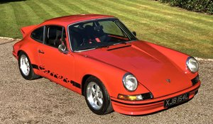 1972 PORSCHE 911 RS Evocation Uk example For Sale