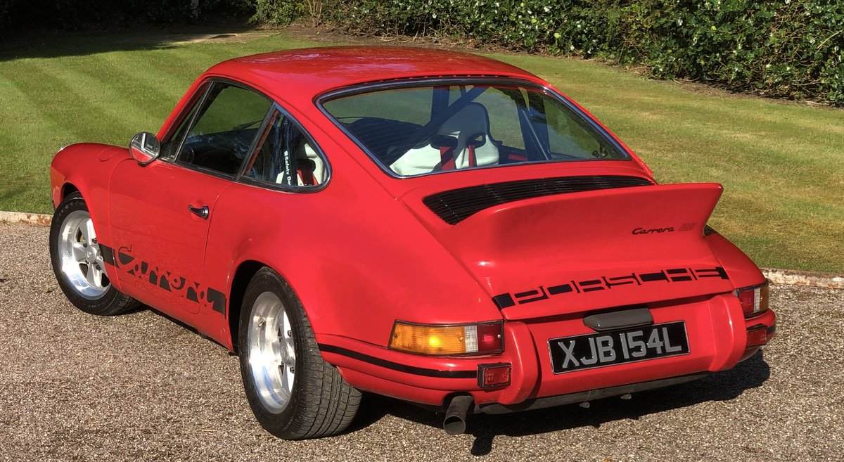 1972 PORSCHE 911 RS Evocation Uk example For Sale (picture 2 of 6)