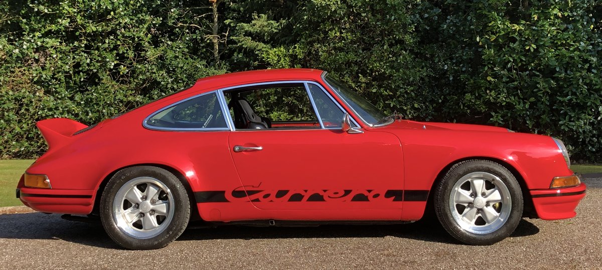 1972 PORSCHE 911 RS Evocation Uk example For Sale (picture 3 of 6)