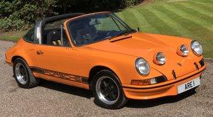PORSCHE 911T Targa LHD UK supplied Oil Klappe model