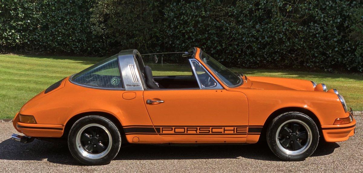 1971 PORSCHE 911T Targa LHD UK supplied Oil Klappe model For Sale (picture 3 of 6)