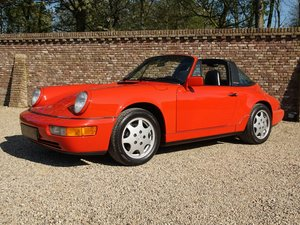1991 Porsche 964 911 3.6 Carrera 4 Targa matching numbers/colours For Sale