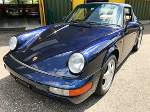 1991 PORSCHE 911 Carrera 2 Cabrio (Cabriolet)  For Sale