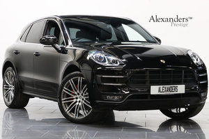 2015 15 PORSCHE MACAN 3.6 V6 TURBO PDK For Sale