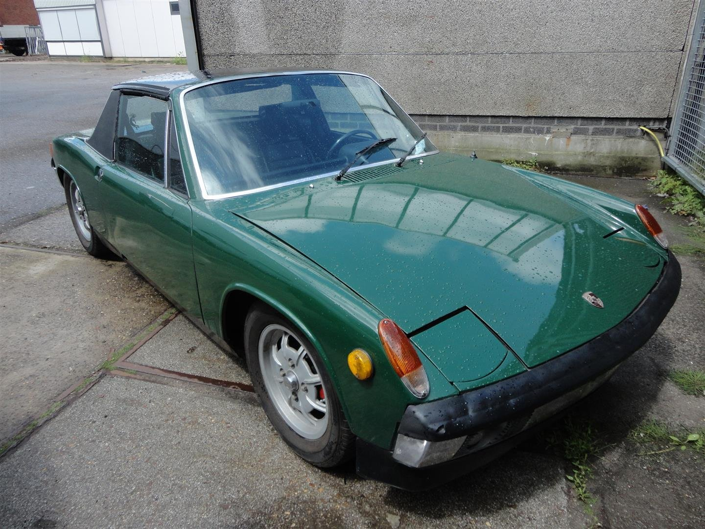 1970 Porsche 914 '70 green For Sale (picture 1 of 6)