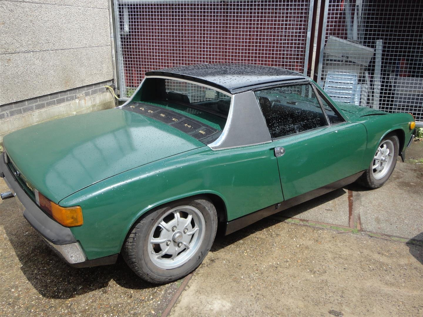 1970 Porsche 914 '70 green For Sale (picture 2 of 6)