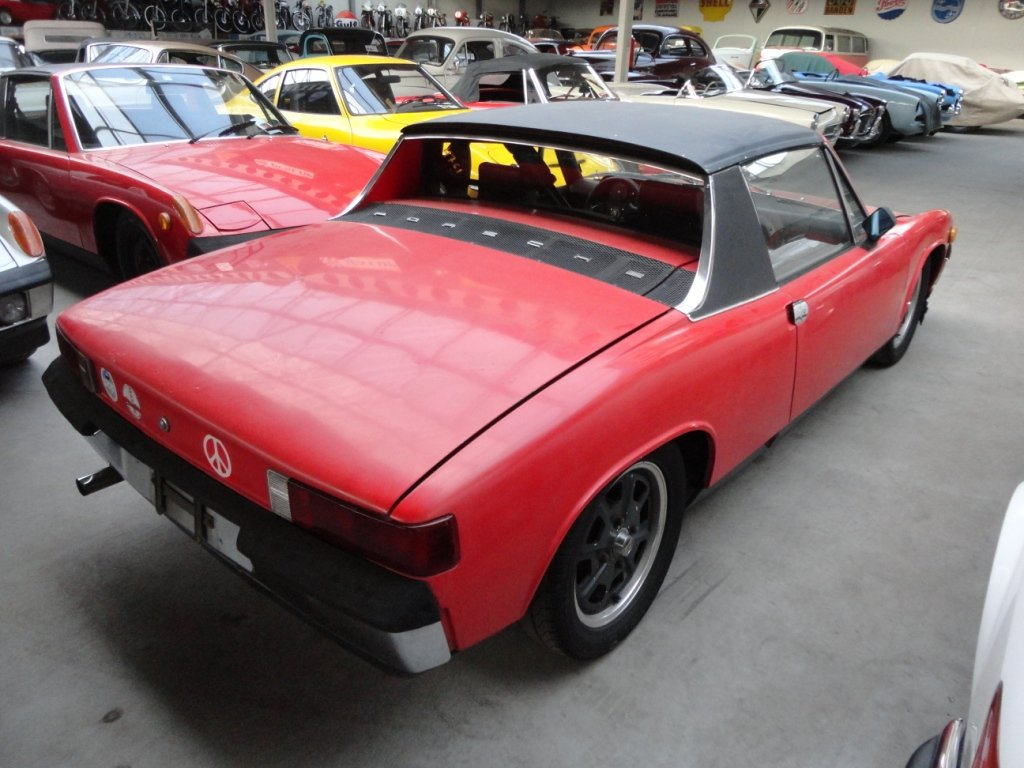 1970 Porsche 914 '70 red For Sale (picture 1 of 6)