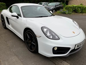 2015 Porsche Cayman 981 with extended warranty