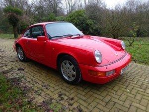 1990 Porsche 964 C2 Coupe - manual For Sale