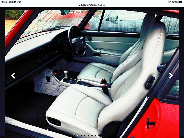 1995 PORSCHE 911 CARRERA 993  AUTO TIP COUPE For Sale (picture 3 of 5)