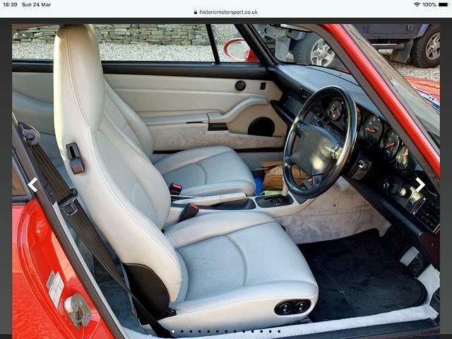 1995 PORSCHE 911 CARRERA 993  AUTO TIP COUPE For Sale (picture 2 of 5)