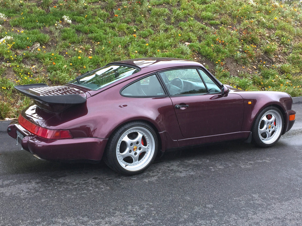 1994 Porsche 911 / 964 Turbo 964 Turbo 3.6 =1 owner 13k mil For Sale (picture 3 of 6)
