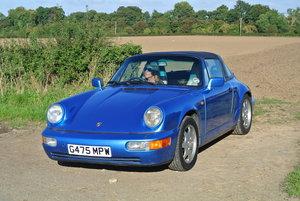 1990 Porsche 911 964 Carrera 4 Targa For Sale