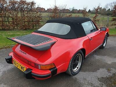 1986 Porsche 911 3.2 Carrera Convertible G50 Gearbox Model  For Sale (picture 2 of 6)