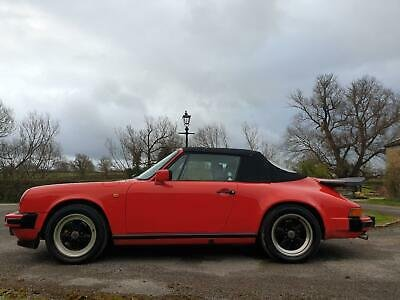 1986 Porsche 911 3.2 Carrera Convertible G50 Gearbox Model  For Sale (picture 4 of 6)