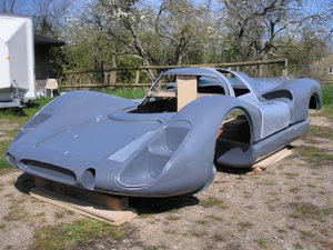 1968 Porsche 908 Coupe Bodywork Short Tail