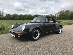 1989 911 Cabriolet Carrera Factory Wide Body M491 For Sale