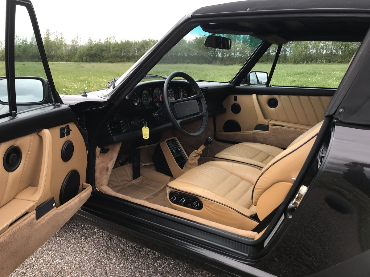 1989 911 Cabriolet Carrera Factory Wide Body M491 For Sale (picture 4 of 6)