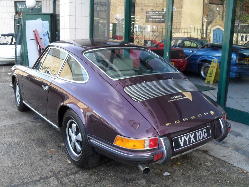 1969 Porsche 911E RHD Sportmatic Fully Restored For Sale (picture 3 of 5)
