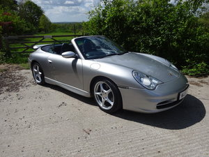 2001 911 (996) Carrera 2 3.6 Tiptronic S Convertible For Sale