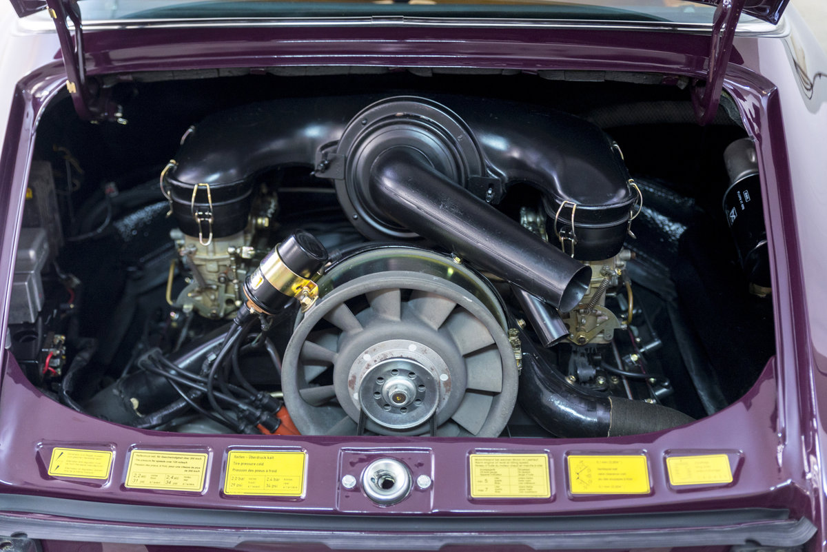1972 911 2.4 Targa Rare Version *Fully Restored* For Sale (picture 5 of 6)