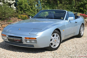 1991 Porsche 944 Turbo manual cabriolet (Factory option 719) For Sale