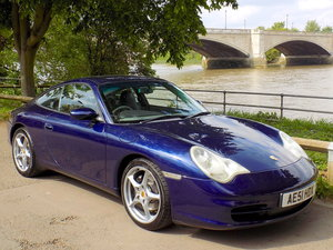 2001 PORSCHE 911 (996) CARRERA 2 COUPE - MANUAL SOLD