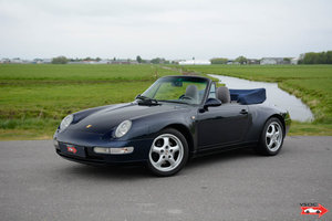 Porsche 911 993 Carrera Cabriolet very nice low mileage For Sale