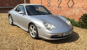 2001 Porsche 911 996 Carrera 2 Cabriolet manual  For Sale by Auction