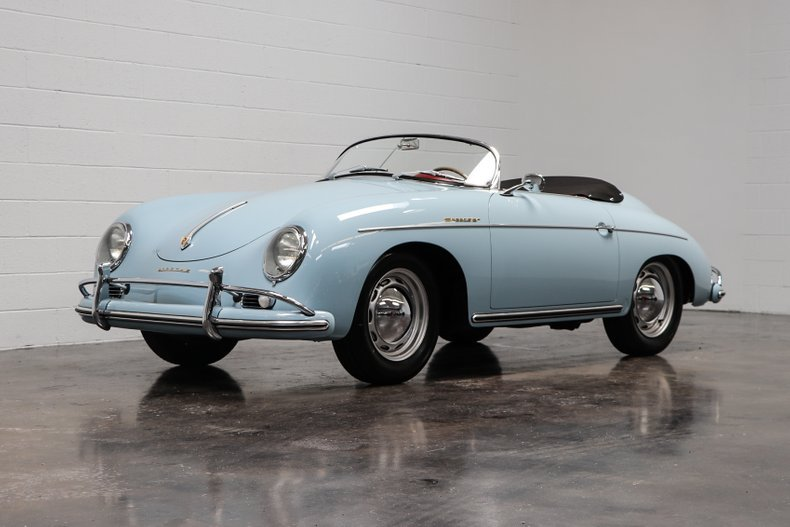 1958 Porsche 356A T2 Speedster = Full Restored Blue $obo For Sale (picture 1 of 6)