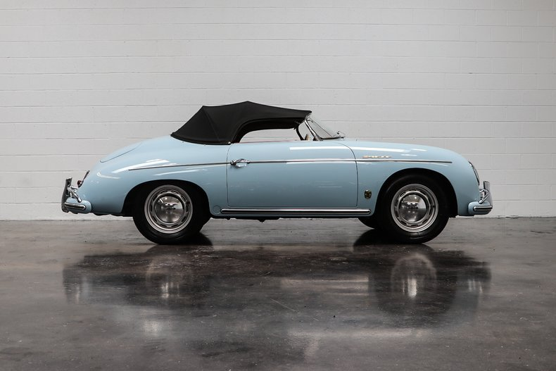 1958 Porsche 356A T2 Speedster = Full Restored Blue $obo For Sale (picture 2 of 6)