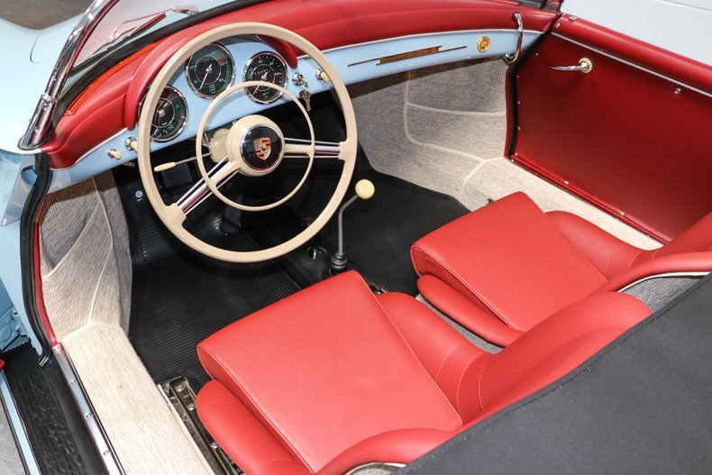 1958 Porsche 356A T2 Speedster = Full Restored Blue $obo For Sale (picture 3 of 6)
