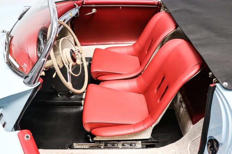 1958 Porsche 356A T2 Speedster = Full Restored Blue $obo For Sale (picture 4 of 6)