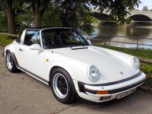 1984 PORSCHE 911 CARRERA 3.2 TARGA SOLD