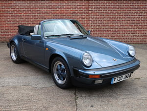 1989 Porsche 911 3.2 Carrera Cabriolet For Sale